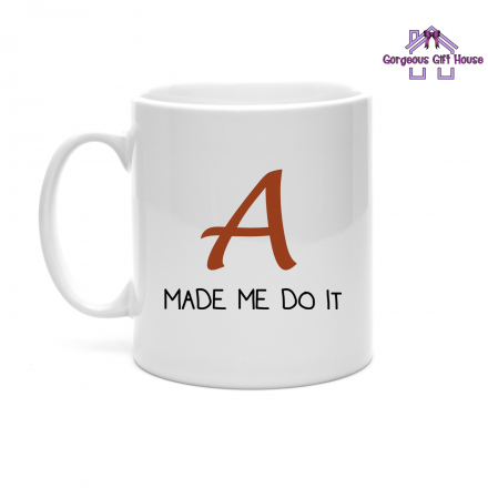 A made me do it - pretty little liars inspired mug