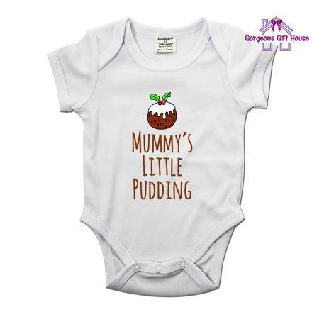 Mummy's Little Pudding Baby Grow