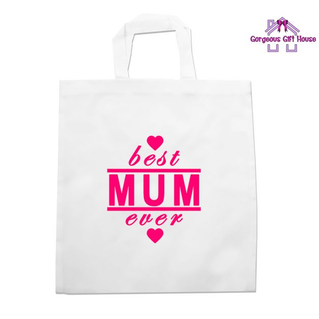 best mum ever tote bag - mothers day gift