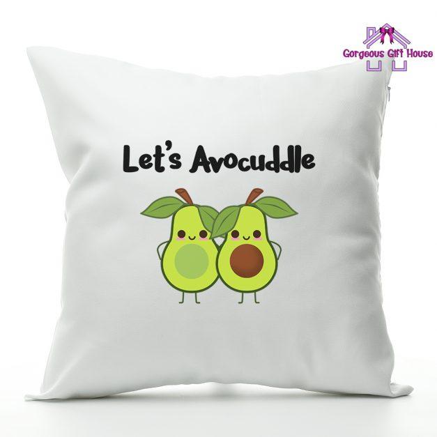 lets avocuddle - cushion gift