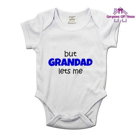 bit grandad lets me fun baby grow