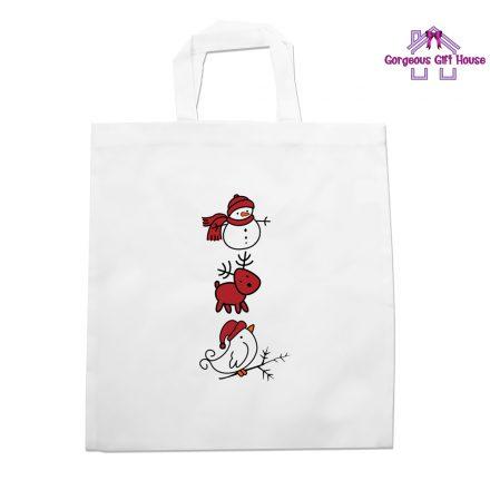 Christmas Trio Tote Bag