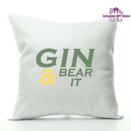 Gin & Bear It Cushion