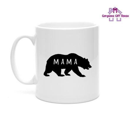 Mama Bear Silhouette Mug