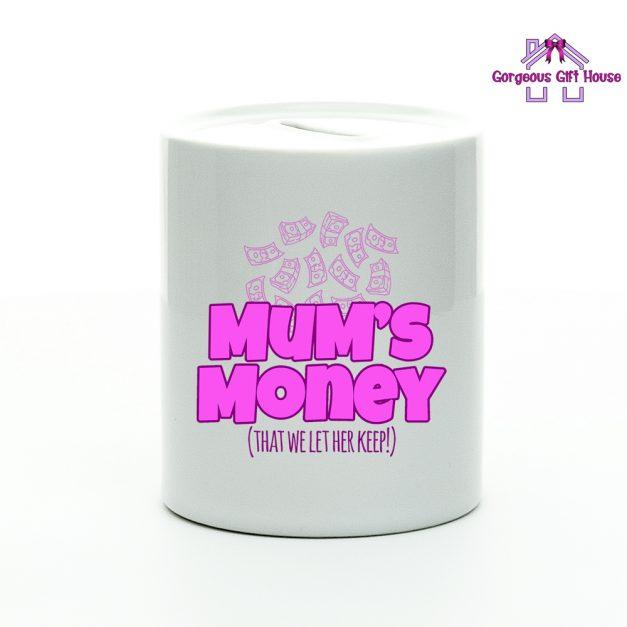 Mum's Money - Money Box