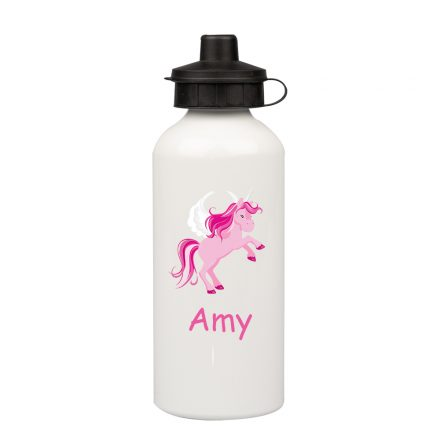 Pink Unicorn Water Bottle