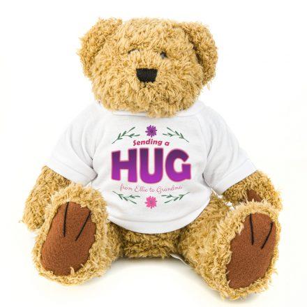 Sending A Hug Teddy Bear Gift For Her