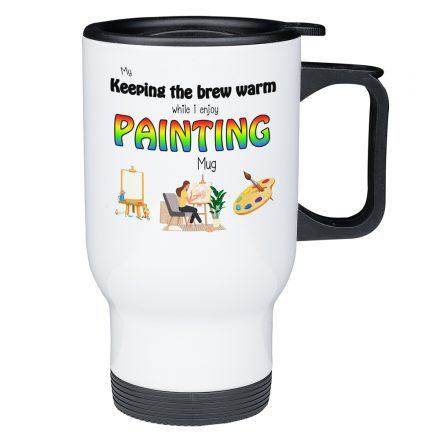 Painting Travel Mug - Gifts for Artists
