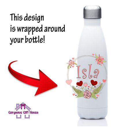 girls personalised drinks bottle