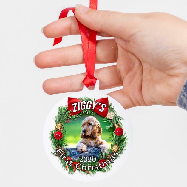 Personalised Christmas Tree Ornament