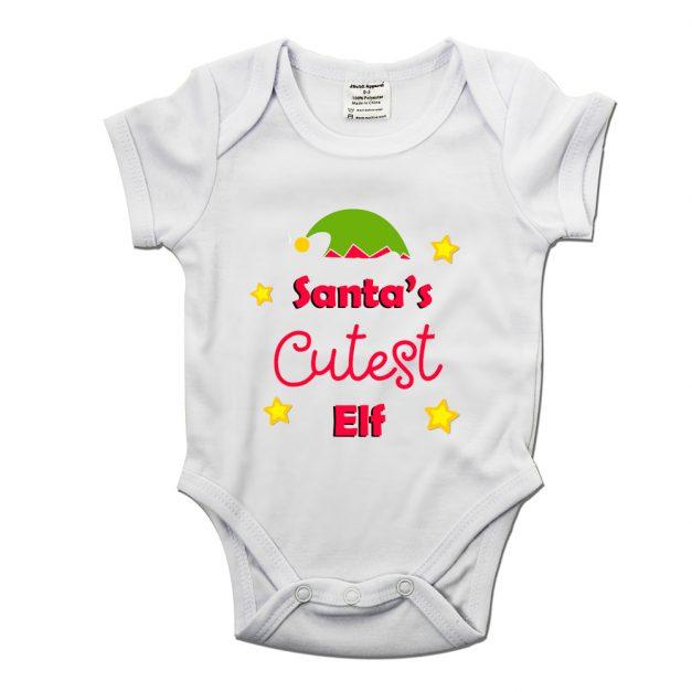 santa's cutest elf baby grow