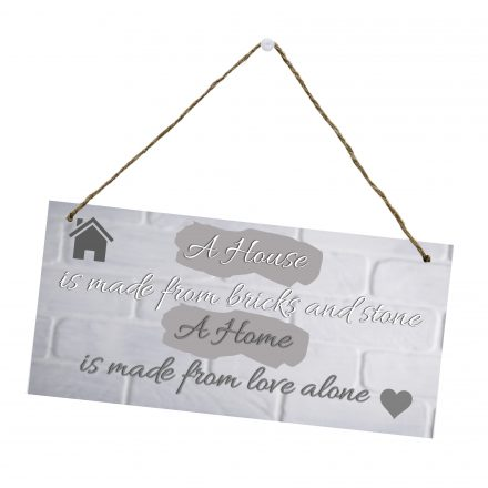 A House is a Home Hanging Sign